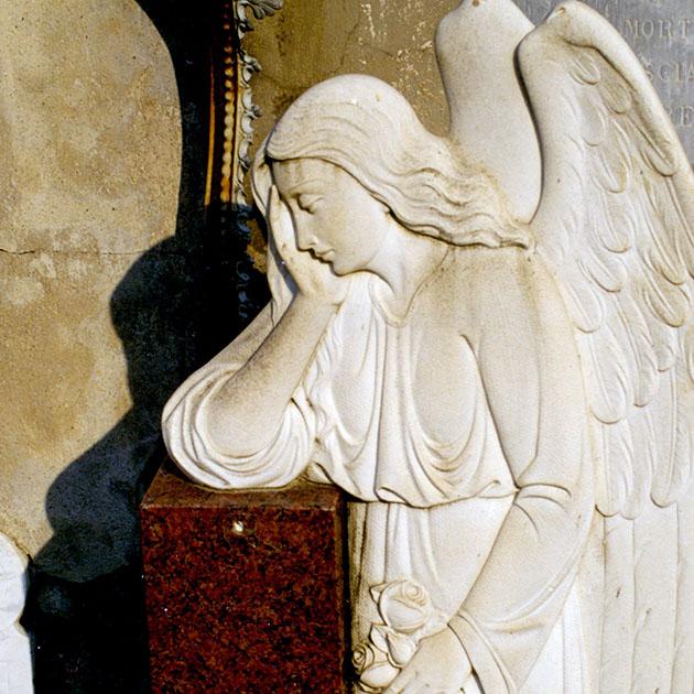 Angelo, cimitero di Chiesanuova