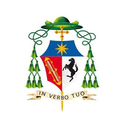 Stemma del vescovo Franco Agostinelli