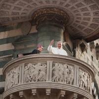 Ancora un saluto di Papa Francesco