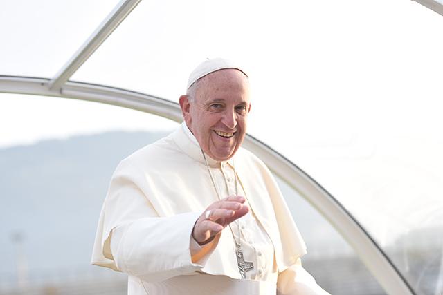 Il sorriso del Papa