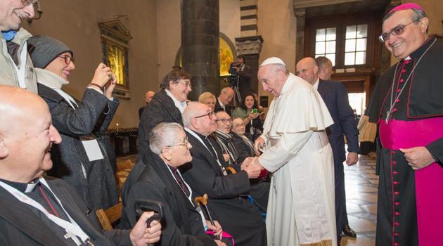 Un momento degli incontri in Cattedrale