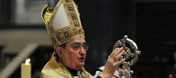 Il vescovo Franco Agostinelli
