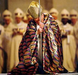 papa giovanni paolo II apertura giubileo 2000