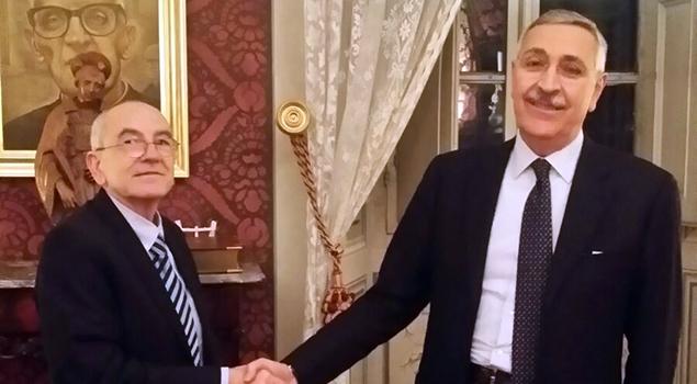 Raffaele Tanzarella e Francesco Giambattista Nardone