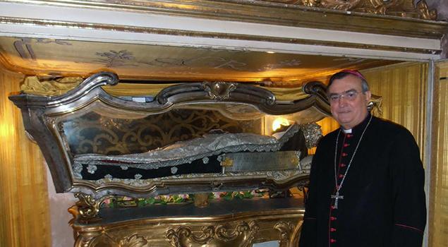 vescovo franco e corpo santa de ricci