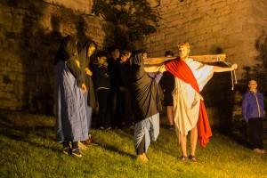 via crucis centro storico