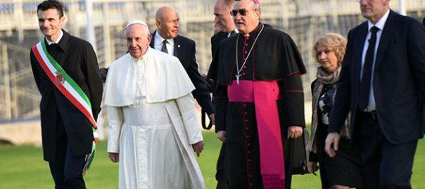 biffoni agostinelli con papa francesco