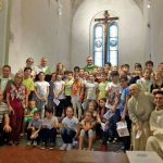 I chierichetti si radunano e sono pronti a ricominciare il nuovo anno pastorale
