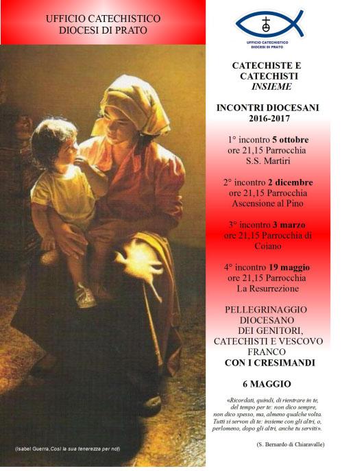 Locandina ufficio catechsitico