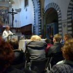 Il vescovo Franco incontra i giornalisti pratesi: «Anche la buona notizia merita attenzione»