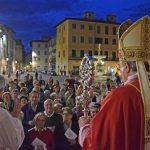 I laici in cattedrale per la solenne veglia di Pentecoste con il Vescovo