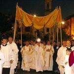 Corpus Domini, la processione eucaristica nel cuore della città