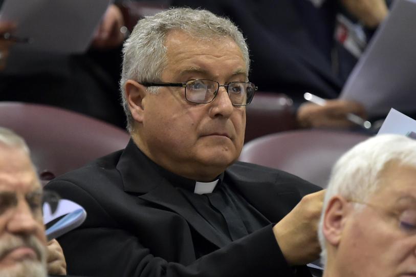 Mons. Nerbini all'assemblea generale della Cei. Foto Cristian Gennari/Siciliani