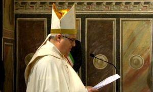 Le parole del vescovo Giovanni al termine della ostensione del 19 marzo 2020