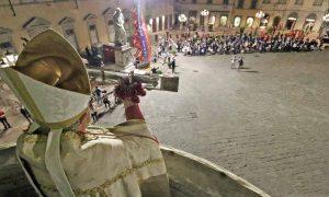 8 settembre 2020: l'ostensione del Sacro Cingolo e l'omaggio a Maria di Cristicchi e Amara