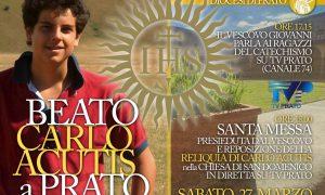 Carlo Acutis a Prato. La catechesi del vescovo Giovanni sul Beato millennial